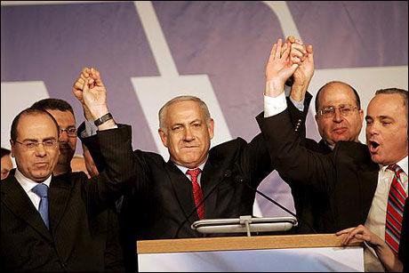 GIR OPP: Benjamin Netanyahu gir opp forsøket på en koalisjonsregjering sammen med Tzipi Livni og hennes Kadima-parti. Foto: EPA Foto: