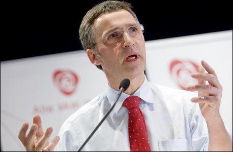 VIL RYDDE OPP: Statsminister Jens Stoltenberg fra Arbeiderpartiet. Foto: Scanpix