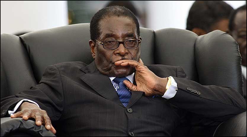 FYLLER ÅR: Zimbabwes president Robert Gabriel Mugabe fuller 85 år førstkommende lørdag. Foto: AFP