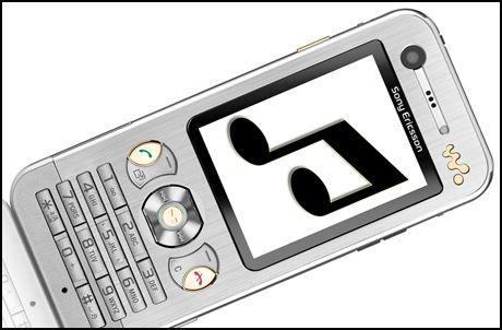 Ringetoner til mobilen din trenger ikke å koste mer enn noen skarve kalorier. Foto: Sony Ericsson