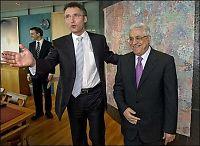 Optimistisk Abbas møtte Jens
