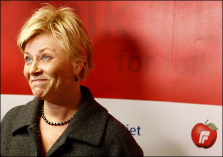 KRITIKK: Siv Jensen må tåle kraftig motbør etter sitt «snikislamiseringutspill». Foto: SCANPIX