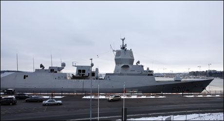 TIL SOMALIA: KNM «Fridtjof Nansen» sendes til Somalia, melder regjeringen. Foto: Scanpix