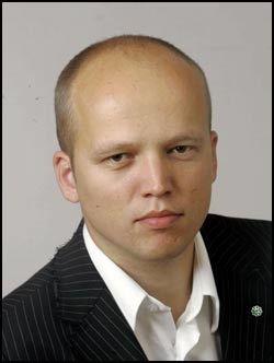 FIKK SMS: Stortingsrepresentant Trygve Magnus Slagsvold Vedum, (Sp), Hedmark. Foto: Scanpix