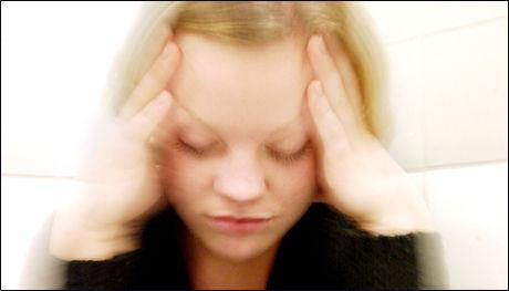 I stressede situasjoner er vi ikke like nøye med hva vi putter i munnen. Foto: Kristin Svorte