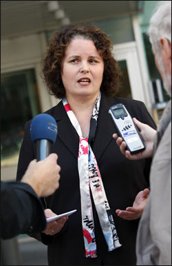 STATSRÅD: Sylvia Brustad leder Nærings- og handelsdepartementet. Foto: Scanpix