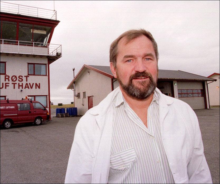 REAGERER: Røst-ordfører Arnfinn Ellingsen reagerer på oljeindustriens lobbyvirksomhet i striden rundt oljevirksomhet i Lofoten. Foto: