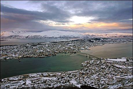 MEST LIKESTILT: Tromsø topper SSBs statistikk over likestillingen i landets kommuner. Foto: Rune Stoltz Bertinussen/VG