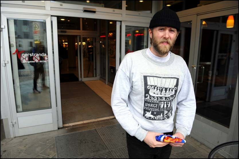 PRØVELØSLATES: Varg Vikernes (35). Foto: TERJE MORTENSEN