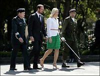 Kronprinsparet ville ikke færra hjem fra Mexico