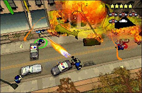 FOR VOKSNE: Skjermbilde fra «Grand Theft Auto: Chinatown Wars». Foto: ROCKSTAR