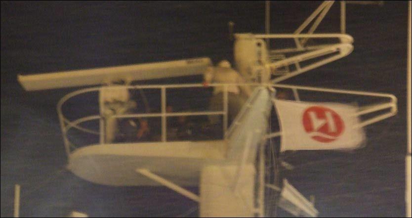 NEKTET Å FLYTTE SEG: Rett før jul 2007 klatret 38-åringen opp i masten på hurtigruteskipet «Polarlys» mens det lå til kai i Båtsfjord. Sammen med politiet klarte brødrene å få ham ned, og tvangsinnlagt. Foto: