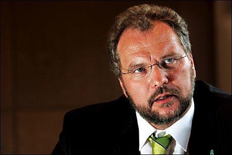 TROR PÅ STORE KONSEKVENSER: Venstre-leder Lars Sponheim. Foto: Frode Hansen