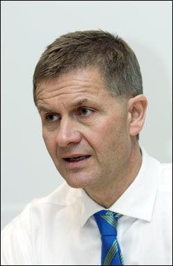 MARKERER: Miljø- og utviklingsminister Erik Solheim (SV). Foto: Scanpix