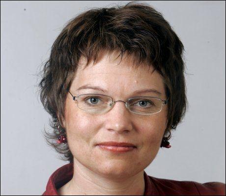 SKUFFET OVER SP: KrFs familiepolitiske talskvinne May-Helen Molvær Grimstad Foto: Scanpix
