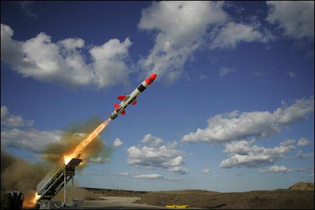 NORSK VÅPEN: Joint Strike Missile er utviklet på Kongsberg, opprinnelig for sjømål. En kontrakt med Lockheed Martin vil gi enorm fortjeneste. Foto: Kongsberg Defence