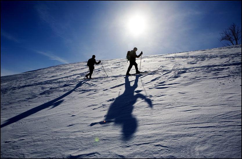 SLIK VIL VI HA DET: Drømme-påske er påske med sol og nydelig skiføre. Årets påske blir trolig grå flere steder. Foto: Scanpix