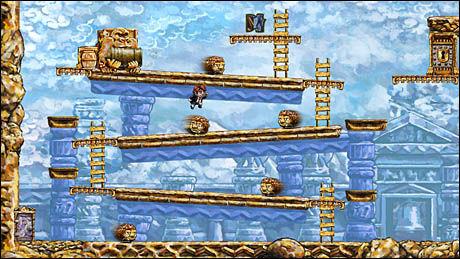 I TIDSKLEMMA: Spillet «Braid» innførte og videreutviklet spillbarhet som baserte seg på manipulering av tid. Foto: NUMBER NONE