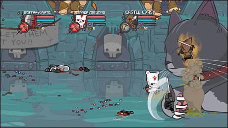 KRITIKERROST: Det strategiske actionspillet «Castle Crashers» ble nylig kåret til beste Xbox Live Arcade-spill. Foto: THE BEHEMOTH