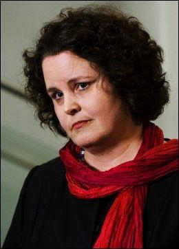 FÅR STØTTE: Statsministeren stiller seg bak nærings- og handelsminister Sylvia Brustads håndtering av Aker-saken. Foto: FRODE HANSEN