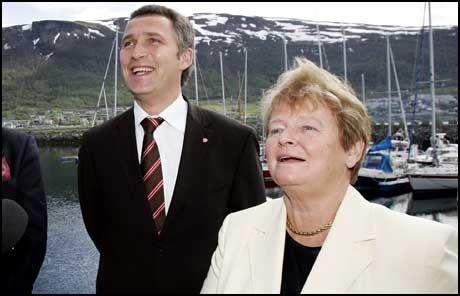 SKAL FEIRE: Jens Stoltenberg og Arbeiderpartiet skal under landsmøtet i helgen feire Gro Harlem Brundtlands 70-årsdag. Foto: Scanpix