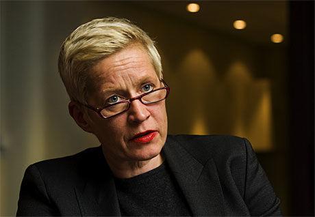 SKUFFET: Sjefsredaktør i Dagbladet Anne Aasheim. Foto: Frode Hansen