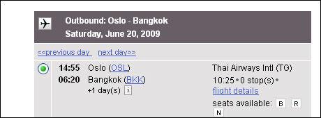 TYVSTART: De aller ivrigste hadde sjansen til å bestille Bangkok-billetter noen timer før direkteruten fra Gardermoen ble lansert.