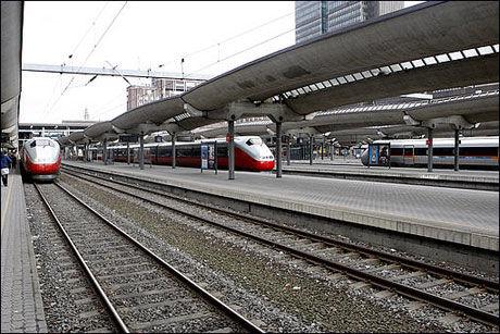 SINKER: Jernbaneverket legger kontrakter ut på anbud for sent, mener private aktører. Foto: Scanpix