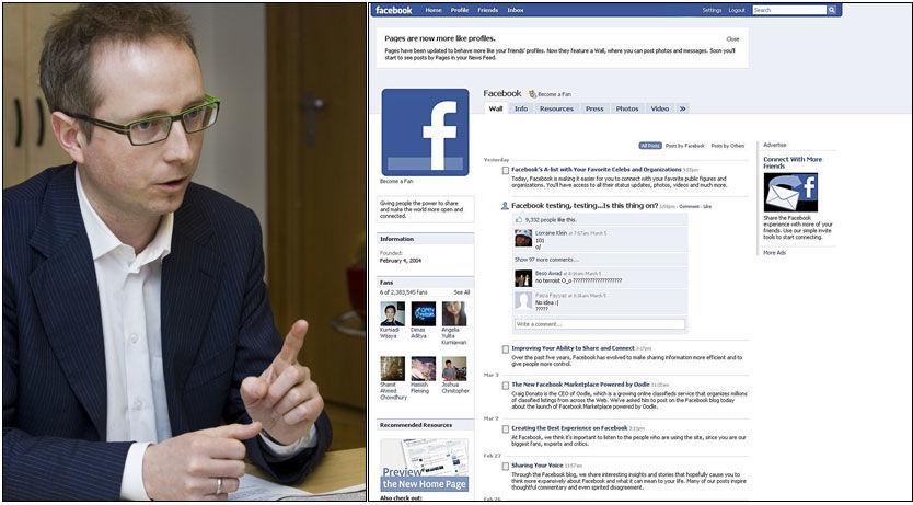 NEI, NEI GUTT DETTE MÅ BLI SLUTT: Kunnskapsminsiter Bård Vegar Solhjell vil straffe elever som bruker Facebook i skoletiden. Foto: Frode Hansen/AP