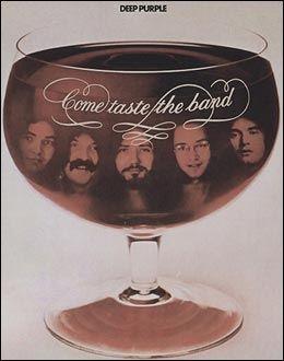 COME TASTE THE BAND: Dette ble den siste platen med Deep Purple for David Coverdale. Foto: Wikipedia