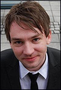 VIL IKKE SAMARBEIDE: Unge Høyre-leder Henrik Asheim synes det blir vanskelig å samarbeide med KrF etter homo-uttalelsene på landsmøtet. Foto: Unge Høyre/Pia Prestmo