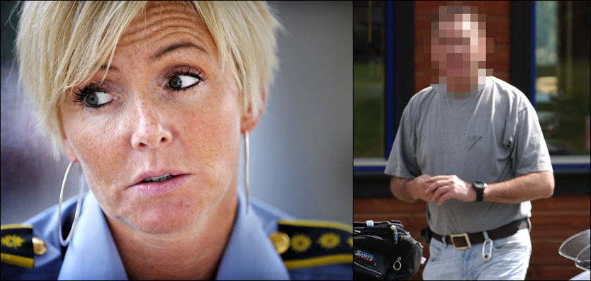 FERDIG: Politiadvokat og etterforskningsleder Jorid Kile Berg avsluttet arbeidet med Lommemann-saken denne uken. Arbeidet har tatt hele 6 år. En 57-årig mangemillionær fra Bergen (t.h) er siktet i saken. Foto: ROBERT S. EIK/JOHNNY NORDMANN