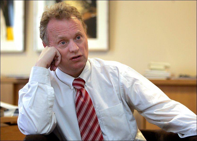 HANDLEFRIHET: Partisekretær Raymond Johansen i Ap mener partiet må ha handlefrihet i EU-saken. Foto: Nils Bjåland