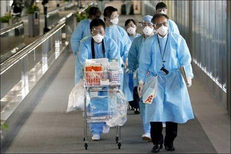 SMITTEN BRER SEG: Tidligere denne uken ble det kjent at svineinfluensaen hadde nådd Japan. Foto: EPA