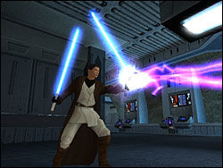 Star Wars: Knights of the Old Republic er et av mange kjente spill Jory Prum har bidratt med lydbildet til. Foto: SKJERMBILDE