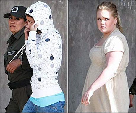 FENGSLET: Madelaine Rodriguez (22) og Stina Brendemo Hagen (18) er sammen med 19-åringen tiltalt for forsøk på kokainsmugling. De to har selv valgt å la seg identifisere. Foto: MATTIS SANDBLAD