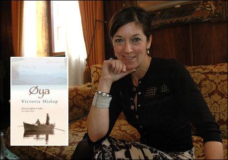 SUKSESSFORFATTER: Britiske Victoria Hislop (49) på norgesbesøk. Foto: CATHERINE GONSHOLT IGHANIAN