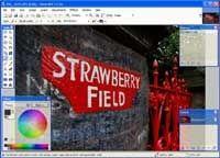 Paint.net er lite og gratis, men likevel avansert. Du kan jobbe med lag, fjerne røde øyne og retusjere ting eller personer vekk fra bildene dine. Foto: PC World