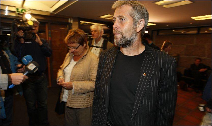 ENIGE: Partene i pensjonsforhandlingene kom til enighet tidlig torsdag morgen. Foto: Scanpix