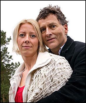 VAR ÅPEN OM SYKDOMMEN: Steinar Lem fortalte sammen med sin kone om sykdommen i VG i begynnelsen av april. Få uker senere gikk han bort. Foto: Espen Braata/VG