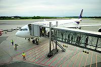 Her er Thai Airways på Gardermoen
