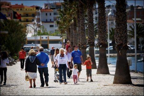 NÆRMERE: Også Algarvekysten i Portugal kan vise til mange soldager. Foto: Jørgen Braastad