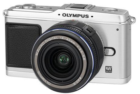 UTBYTTBART: Objektivet på dette kameraet kan lett byttes ut, det borger for god optikk i liten pakkel Foto: Olympus
