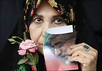 Opposisjonslederens kone: - Unntakstilstand i Iran