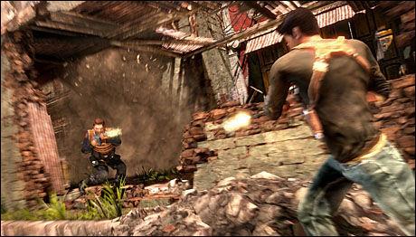 HOTTEST PÅ E3: PS3-spillet «Uncharted 2: Among Thieves» hentet hjem flere priser under den årlige «Game Critics Awards». Foto: NAUGHTY DOG/SONY