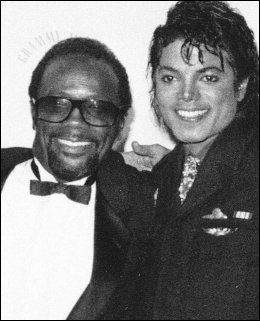 VANT GRAMMY: Quincy Jones og Michael Jackson i 1986. Foto: AP