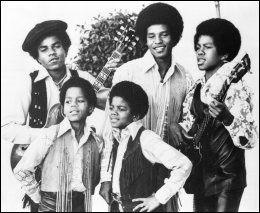 JACKSON FIVE: Michael Jackson, Marlon Jackson, Tito Jackson, Jackie Jackson, Jermaine Jackson. Foto: AP