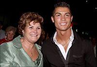 Ronaldo sparket inn bilrute