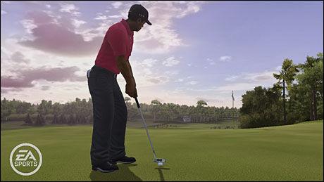 Skjermbilde fra PS3- og Xbox 360-versjonen av Tiger Woods PGA Tour 10. Foto: EA