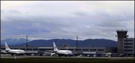 KOM IKKE HIT: Passasjerflyet fra Cimber Air nådde aldri frem til Vigra. Foto: VG
